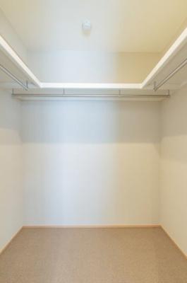 WICです。収納スペース豊富です。