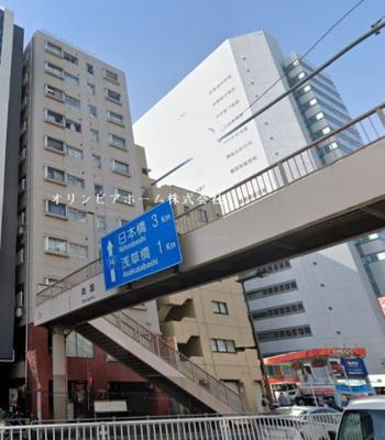 【外観】東武ハイライン両国 5階 角 部屋 リ ノベーション済
