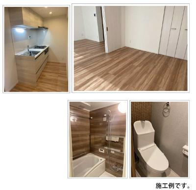 【完成予想図】東武ハイライン両国 5階 角 部屋 リ ノベーション済