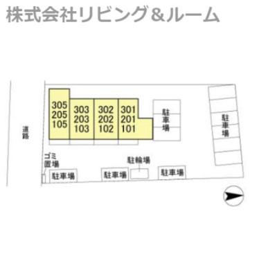 【区画図】グランドゥール・三笠山