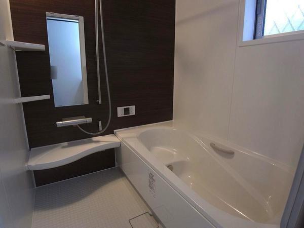 【浴室】仲介手数料無料 練馬区石神井台5丁目新築一戸建て