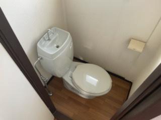 【トイレ】グリーンコーポ岸岡