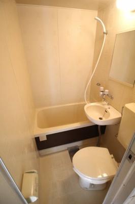 【浴室】新在家マンション