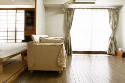LDKの続きに和室があり、扉を全開すれば約20帖の広々としたスペースになります。
