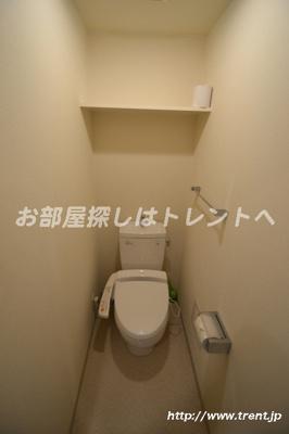 【トイレ】プレールドゥーク新宿