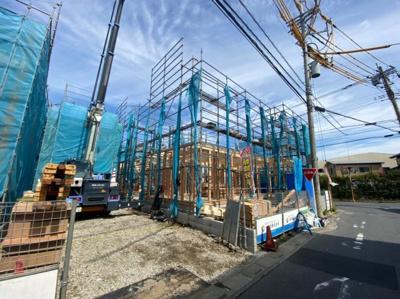 【外観】三郷市戸ヶ崎4丁目新築戸建て【全4棟】