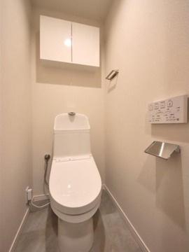 【トイレ】仲介手数料無料■コスモ両国グランシティ4階 角部屋 リノベーション済