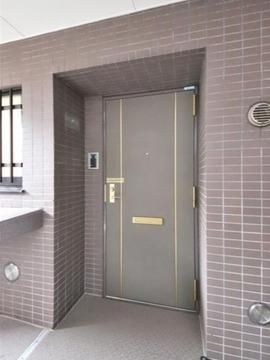 【玄関】仲介手数料無料■コスモ両国グランシティ4階 角部屋 リノベーション済