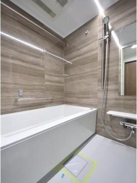 【浴室】仲介手数料無料■コスモ両国グランシティ4階 角部屋 リノベーション済