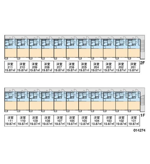 【区画図】レオパレスデルニエKⅡ