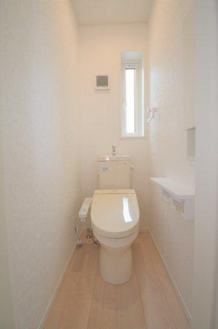 2階のトイレです。