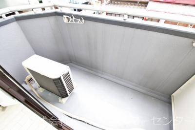 【バルコニー】第25長栄壬生H Tマンション