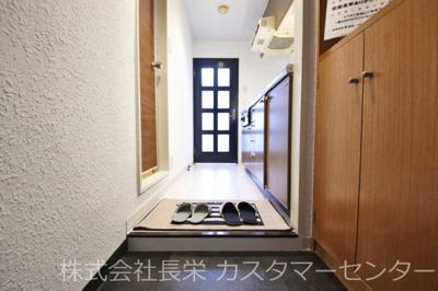 【玄関】第25長栄壬生H Tマンション