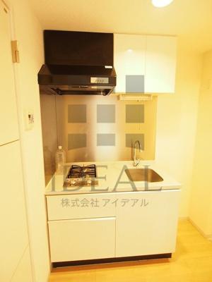 【キッチン】ラグジュアリーアパートメント本郷