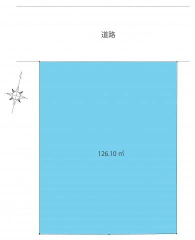 【土地図】世田谷区上用賀6丁目・建築条件無売地
