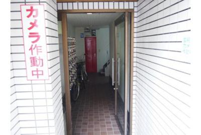 【エントランス】コスモレジデンス花園南