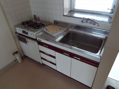 【キッチン】アイビーコーポ