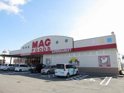 マグフーズ六ツ美店まで1200m