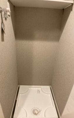 ワコー高田馬場マンションの洗濯機置場です。