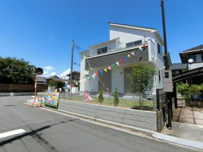 【外観】龍ヶ崎市城ノ内2丁目2期 新築戸建 1号棟