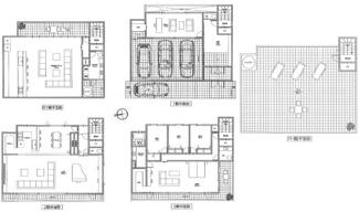 建物プラン例(AB区画)