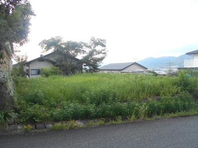 【外観】亀岡 西つつじヶ丘美山台一丁目 建築条件無し売土地