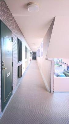 写真撮影年月日2021年8月 共用廊下