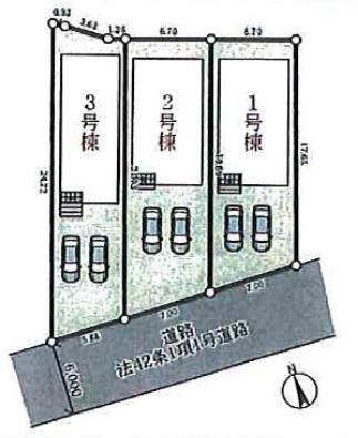 【区画図】加東市多井田 第2 3号棟 ~新築一戸建~