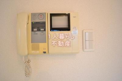 TVモニター付きインターフォンです