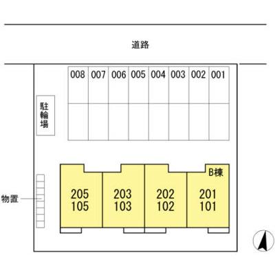 【区画図】マジェスタ B