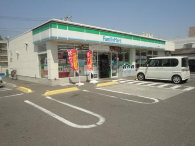ファミリーマート南手城店(コンビニ)まで417m