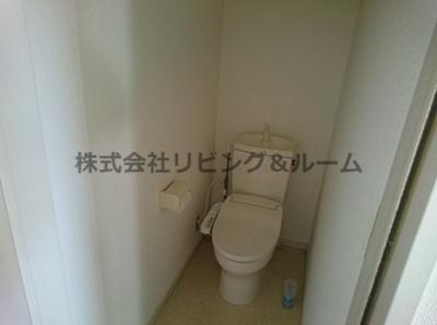 【トイレ】グランピアコーポ・E棟