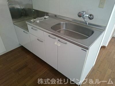 【キッチン】グランピアコーポ・E棟