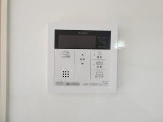 LDKには室内物干しがついています。雨の日、外に洗濯物を干せないときに便利です。