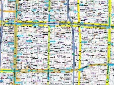 【地図】エステムコート心斎橋central