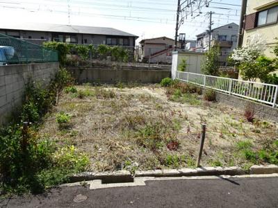 【外観】売土地 大東市錦町(建築条件無・更地)
