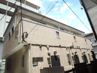 京浜急行線「梅屋敷」駅より徒歩7分のアパートです