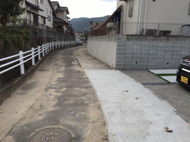 【前面道路含む現地写真】グラファーレ那珂川市片縄北4LDK