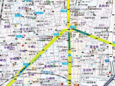 【地図】ノルデンタワー天神橋