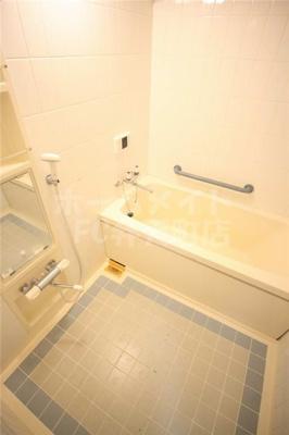 【浴室】シティコーポ朝潮1号棟