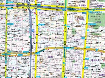 【地図】ファーストステージ心斎橋EAST