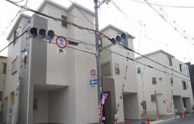 【外観】東成区大今里1丁目 新築戸建