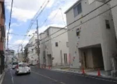 【前面道路含む現地写真】東成区大今里1丁目 新築戸建