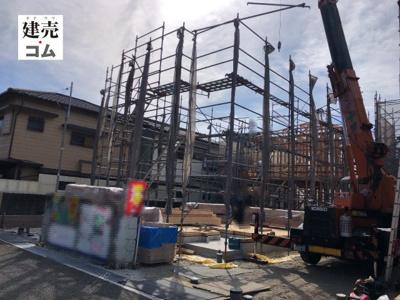 尼崎市武庫之荘本町2丁目第3 新築一戸建て 2021/8/2現地撮影