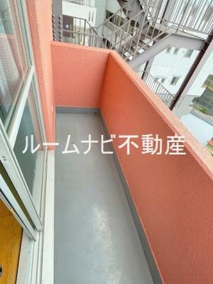 【バルコニー】ライオンズマンション六義園