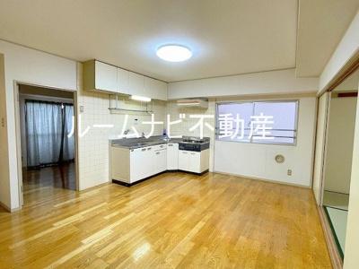 【居間・リビング】ライオンズマンション六義園