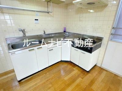 【キッチン】ライオンズマンション六義園