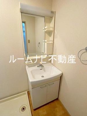 【洗面所】ライオンズマンション六義園