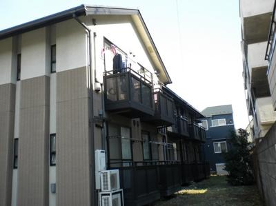 都営浅草線「馬込駅」徒歩8分のアパートです。