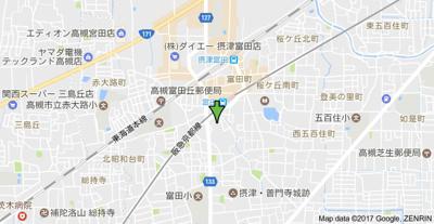 【地図】メゾン・リヴェールⅡ (株)Roots